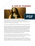 ST.james Son of the Thunder