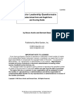 2 Leadership Questionnaire
