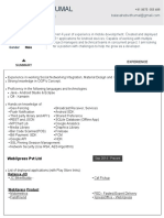Balasaheb Resume PDF Format