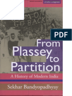 From Plassey to Partition by Sekhar Bandopaddhya [Xaam.in]