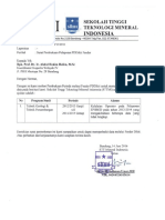 Format Surat Permohonan Pembukaan Periode
