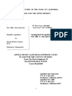 Opening Brief on Appeal of Star :Hills & Alan Gjurovich  vs Martha Compos
