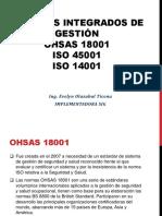 Sig Ohsas 18001 Iso 14001