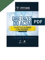 Directrizes de ACSM - prova de esforço