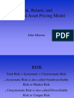 Capital Asset Pricing Model _CAPM