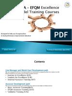 SKEA -EFQM TrainingWorkshopsplan2016