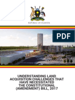 Understanding land acquisition challenges that have necessitated the Constitutional (amendment) bill, 2017
