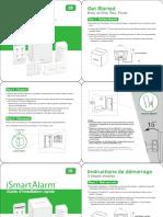 ISmartAlarm Quick Installation Guide NA
