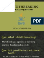 Multithreading Interview Questions