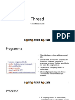 Thread e Multithreading
