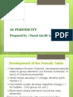 Periodicity (1)