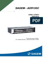 Sagem - Adr155c