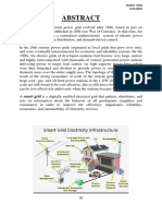 139721062 Project Report on Smart Grid