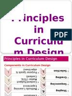 01. Principles Incurriculumdesign