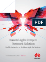 Huawei Agile Campus Network Solution (SD)