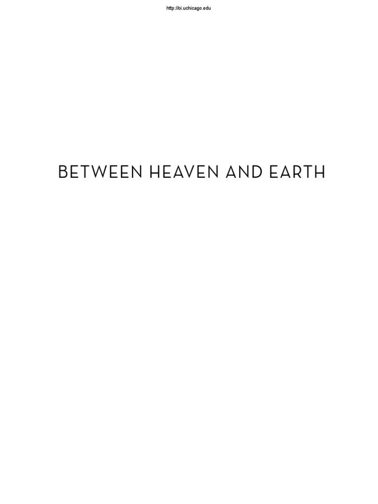 Betw Heaven Earthpdf Egyptology Ancient Egypt