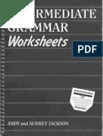 Intermediate Grammar Worksheets
