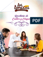 Recetario Sopas y Chupes