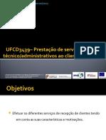 UFCD3439_Prestação de Servicos Na Recepcao