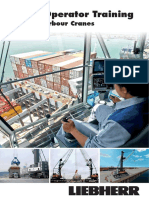 Liebherr Crane Operator Training for Mobile Harbour Cranes Flyer 15195 0