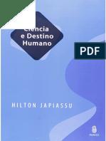 Japiassu - Ciência e Destino Humano