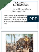 Land Reform Report (Philippines)