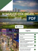 Romania CSR Index 2015