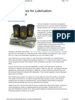 Best Practices for Lubrication Management