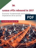 Global IPOs rebound in 2017