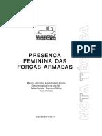 Vieira, Marco - Presença Feminina Das Forças Armadas
