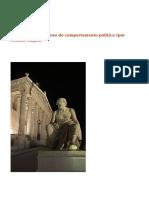 Tucídides - Estudioso do Comoortamento Político