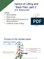 Presentation on Lifting