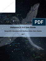 Stellarium User Guide 0.16.0 1