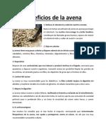 Leche de Avena - Los Beneficios de La Avena