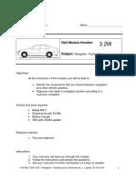 416 Mod 3.2W W211 Navigation Tracking Issue 04-02-04