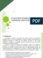V. Flujo Multifásico en Tuberías Verticales