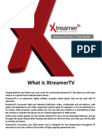 XTV Manual
