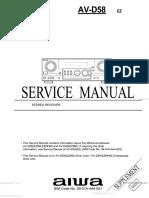AV-D58 Service Manual