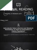 Journal Reading Fix