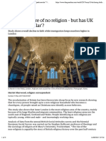 Nearly 50% are of no religion – but has UK hit 'peak secular'? | World news | The Guardian