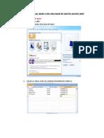 Visual Basic Con Access 2007