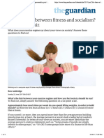 Is there a link between fitness and socialism? – personality quiz | Ben Ambridge | Life and style | The Guardian.pdf