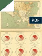Atlas de la distribution géographique de las maladies dans leurs repports avec les climats-[Tomo 2]