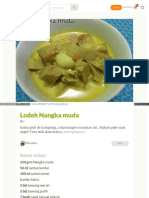 Cookpad Com Id Resep 3031336 Lodeh Nangka Muda