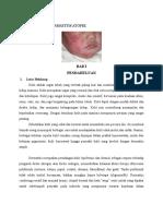 Askep Pada Pasien Dermatitis Atopik