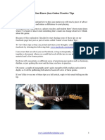 17 Must Know Jazz Guitar Practice Tips