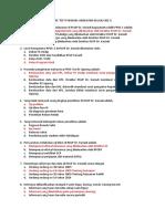 Pretest dan Post-test POSMARS FK UNDIP PPDS-1 2017