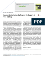 Leukocyte Adhesion Deficiency III Report of Two S 2017 Pediatrics Neonato