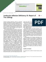 Leukocyte Adhesion Deficiency III Report of Two S 2017 Pediatrics Neonato