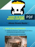 Clase 03 Diseño de Minas Subterraneas